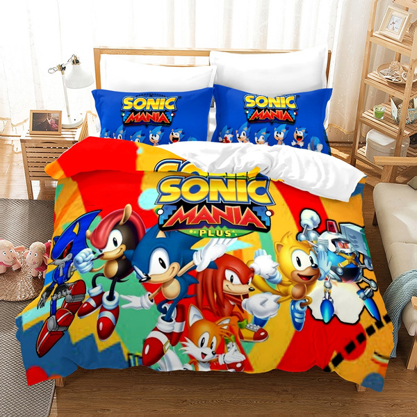 sonic, Beds, King, Bedding