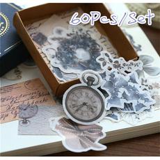 Books & Magazines, handmadepaper, Vintage Style, Stickers