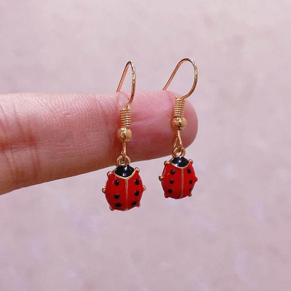 charmearring, Dangle Earring, simpleearring, creativebirthdaygift