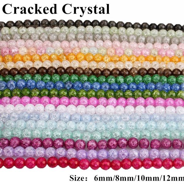 naturalcrystalbead, Beaded, Bracelet, Jewelry