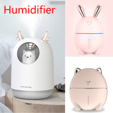 umidificadordear, cute, essentialoilhumidifier, led