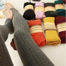 Leggings, Warm Leggings, Winter, Elastic