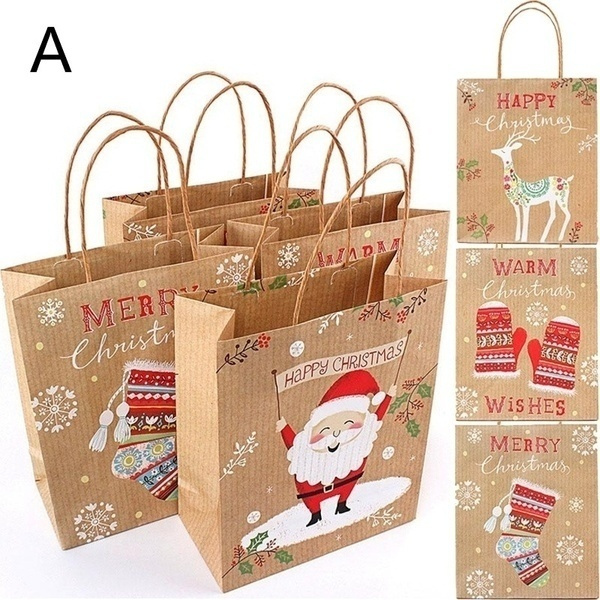 Christmas, Gifts, Gift Bags, Food