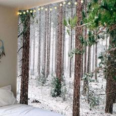 treetapestry, art, Home Decor, snowtapestry