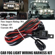 wiringharnessswitchkit, foglightbarrelay, electricalwire, led