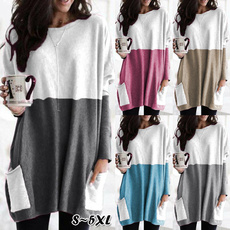 Pocket, Plus Size, Winter, Sleeve