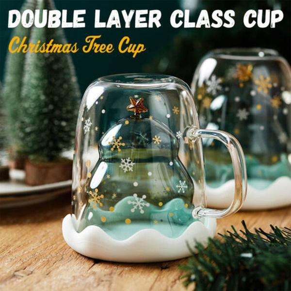 Café, christmascup, drinkingcup, christmastreegla
