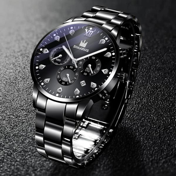 Fashion, Casual Watches, Classics, blackwatch