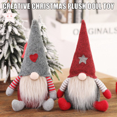 Decor, Toy, gnome, christmasfacelessgnome