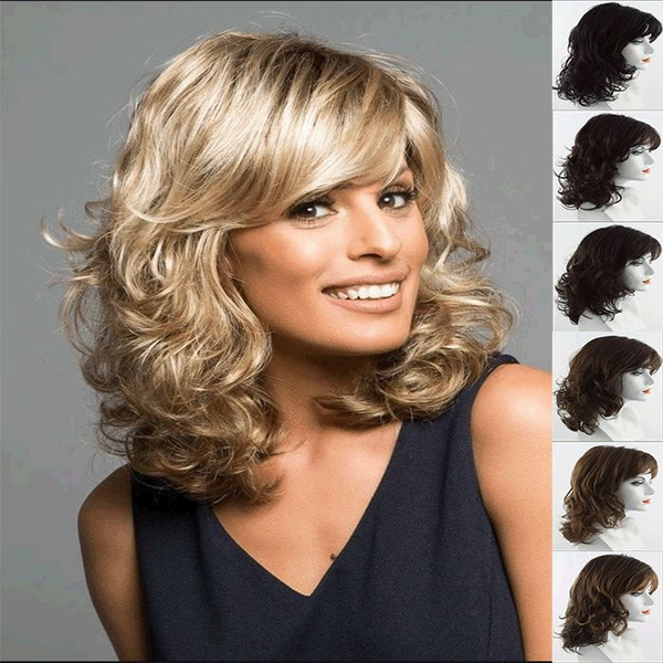 full lace human hair wigs, wig, Fashion, wigs cospay