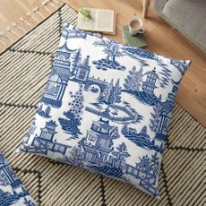 Blues, case, pillowcasehomebedding, Polyester