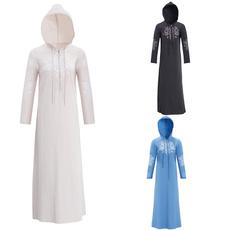 Plus Size, Sleeve, long dress, Clothing