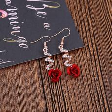 roseearring, Fashion, Love, Jewelry
