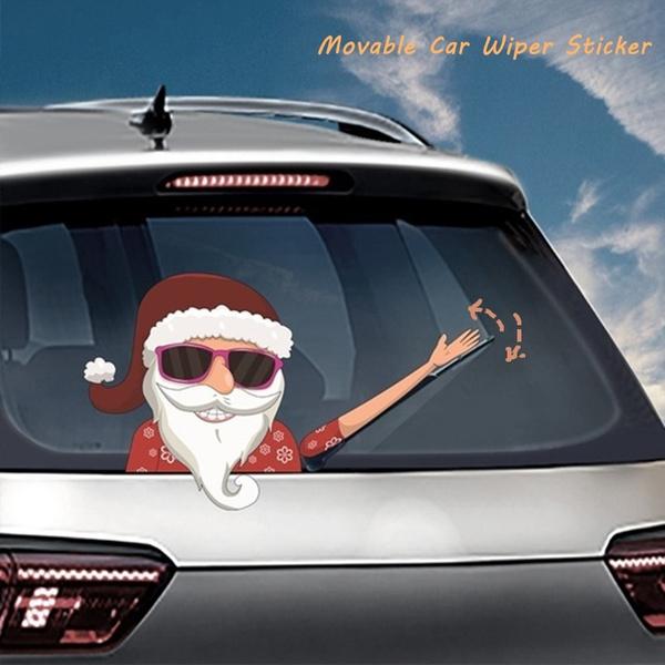 rearwindshieldsticker, Christmas, Cars, Stickers