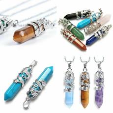crystal pendant, quartz, Jewelry, Rose