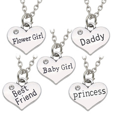 Baby, Heart, daddynecklace, Love