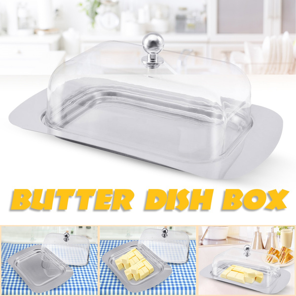 Butter, Cheese, Container, Stainless