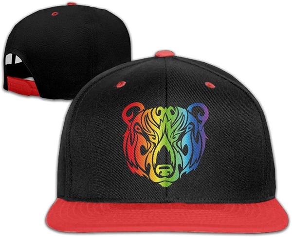 ballcapsformen, blackcap, snapbackhatsformen, rainbow