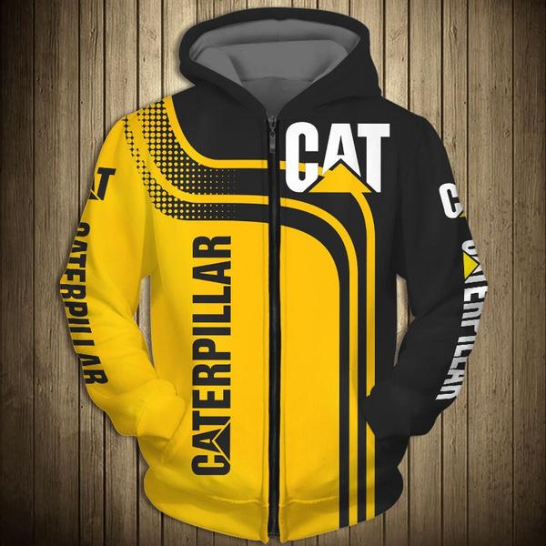 Hip-hop Style, 3D hoodies, Fashion, caterpillarhoodie