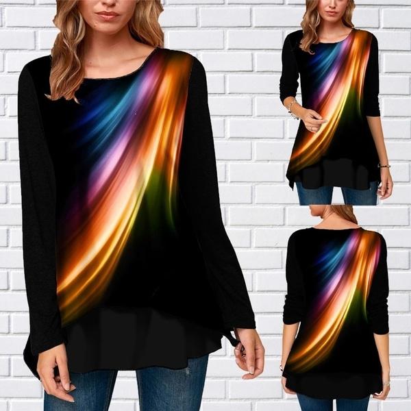 blouse, Plus Size, sleeved, tunic