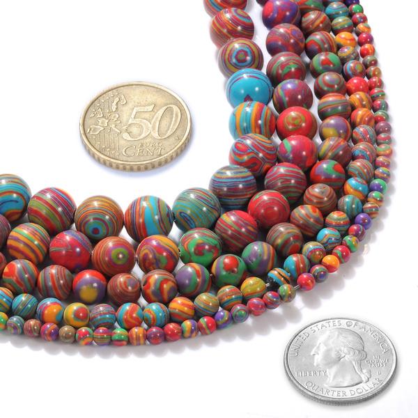 Necklace, rainbow, beadsforbracelet, crystalbead