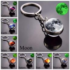 Dark, solarsystem, Key Chain, Jewelry
