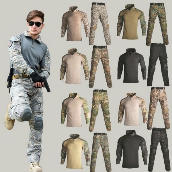 frogsuit, Combat, pants, Long Sleeve
