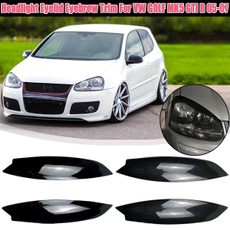 headlighteyelidforvwgolfmk5, Golf, careyebrowtrim, headlighteyebrow