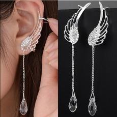 Women, dangleearing, Angel, Stud Earring