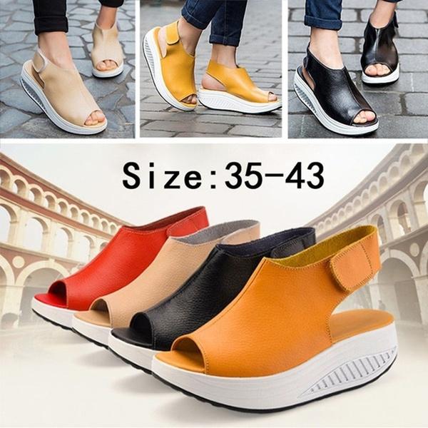 comfortablesandal, Summer, Sandals, leather