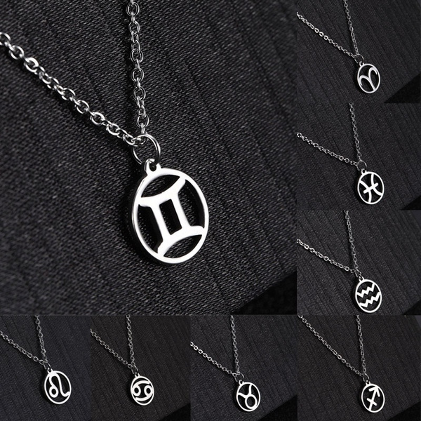 constellationnecklace, Sterling, zodiacnecklace, Jewelry