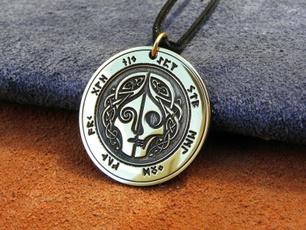 leatherropenecklace, Steel, mensfashionnecklace, Jewelry
