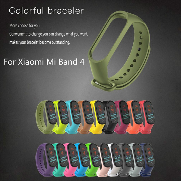 replacementwristband, xiaomibnad4strap, xiaomimiband3, siliconestrap