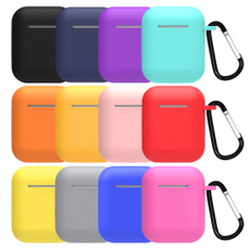 case, siliconecoverforairpod, Earphone, Shockproof