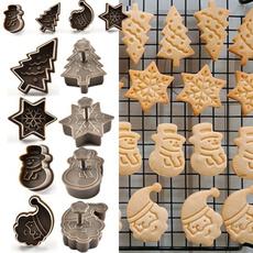 Kitchen & Dining, Baking, biscuitcutter, christmasbakingmold