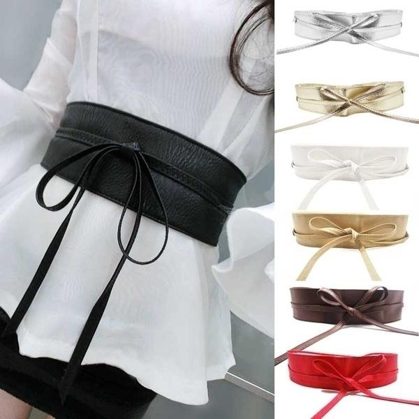 Women, wide belt, Fashion, Waist
