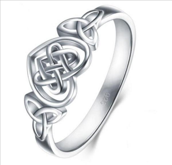 Sterling, weddingengagementring, celticknot, Jewelry