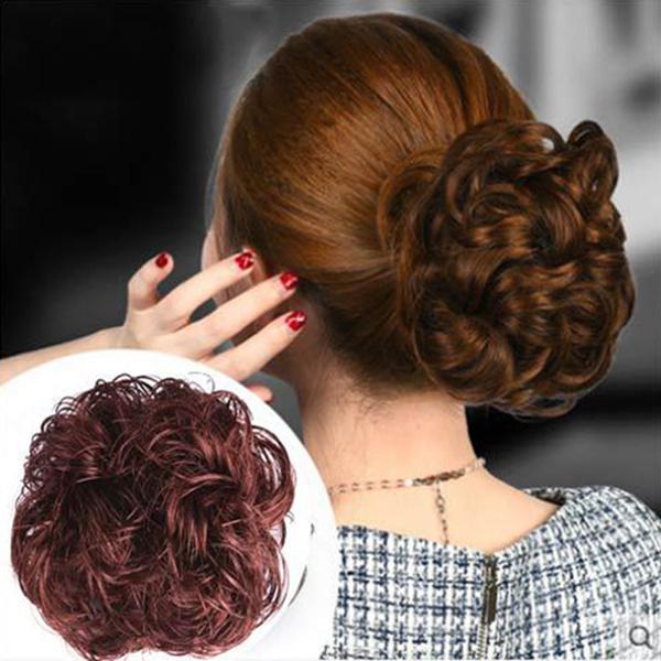 wig, Woman, Hairpieces, hairbun