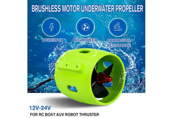 12-24V DIY Ship Model Underwater Propeller Motor For RC Boat AUV Robot Thruster