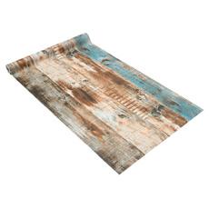 rusticwoodsticker, selfadhesivewallpaper, Home & Living, Stickers