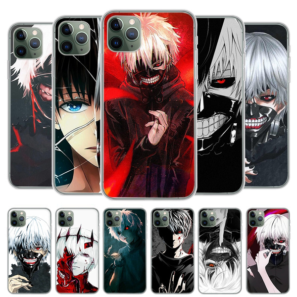 Japanese Anime Tokyo Ghoul Phone Case Covers for IPhone 11 Pro Max IPhone 8 7 6S Plus X XS MAX 5 5S SE XR Concha Fundas Coque Samsung Galaxy S6 Edge ...