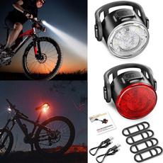 Flashlight, Tail, Bicycle, usb