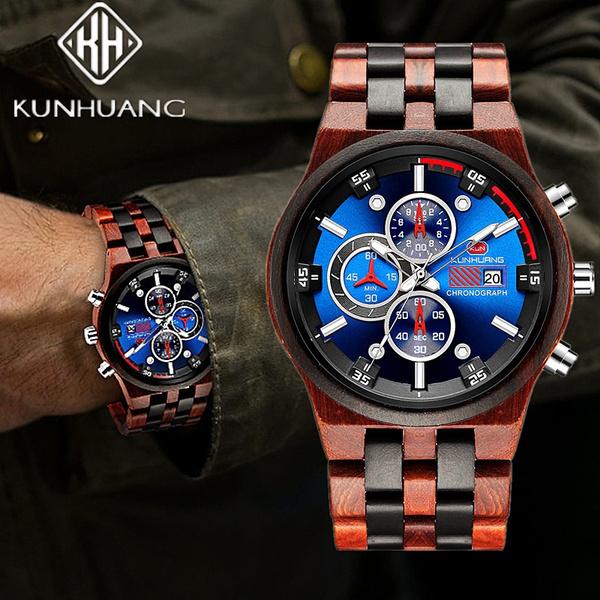 woodenwatch, watchformen, dial, Men Business Watch
