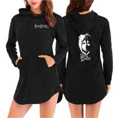 hoodie womens, Fashion, blackbutler, printed
