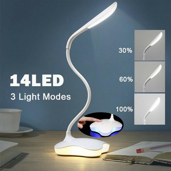led, usb, dimmingtablelamp, Home & Living