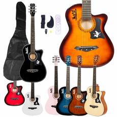 Musical Instruments, Acoustic Guitar, basswoodguitar, Guitars