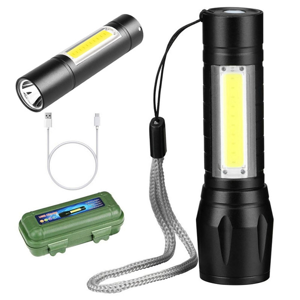 Flashlight, Mini, builtinbattery, led