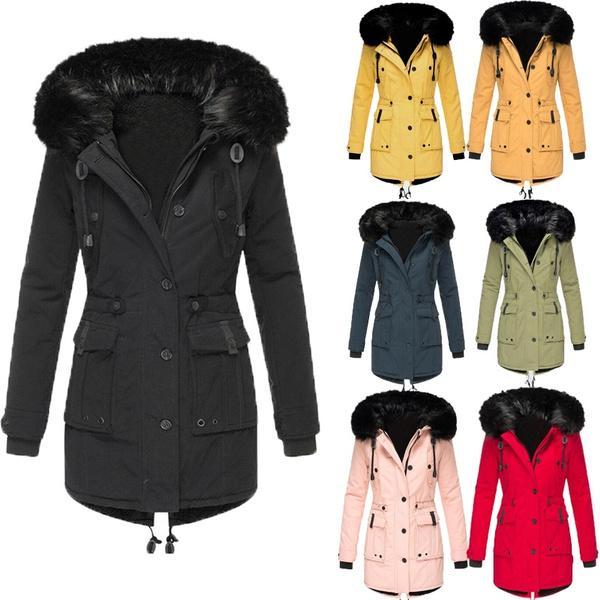 padded, fur coat, Plus Size, fur