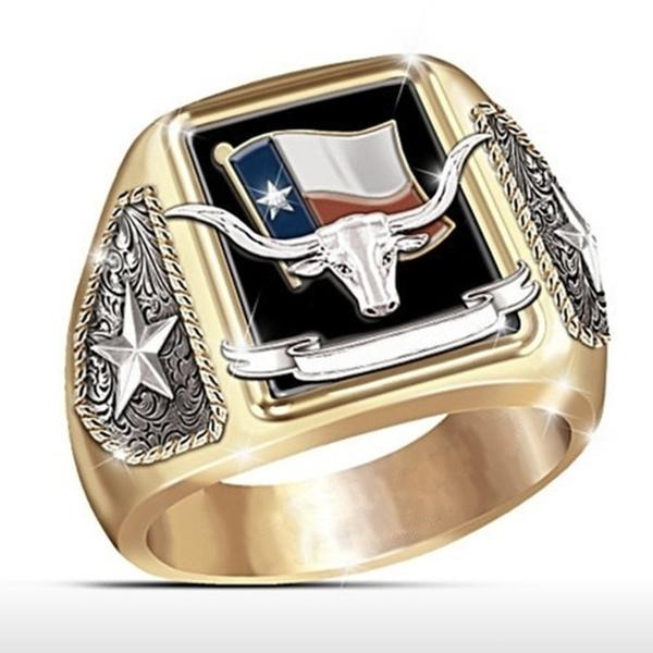 Sterling, ringsformen, Head, texaspridering