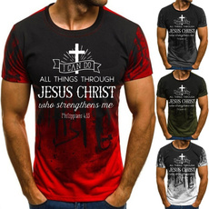 christiantshirt, Plus size top, jesusshirt, print t-shirt